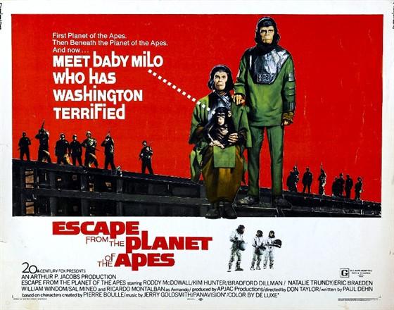 Бегство с планеты обезьян (Escape from the Planet of the Apes)