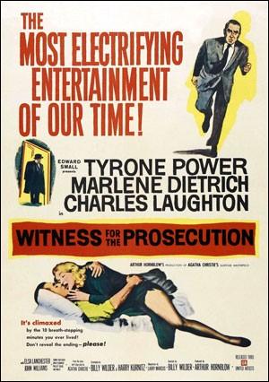 Свидетель обвинения (Witness for the Prosecution)