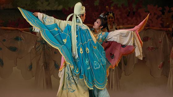 Вечер китайского балета «Любовь и бабочки»