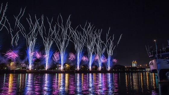 II Международный фестиваль фейерверков «Ростех-2016»