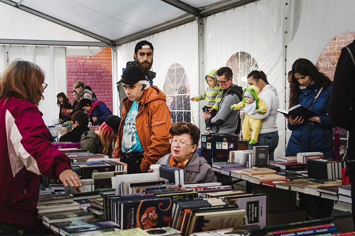 Недавний книжный фестиваль в «Смене»