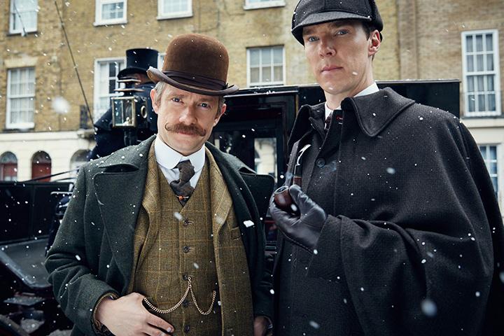 Кадр из сериала BBC про Холмса (2010–…)