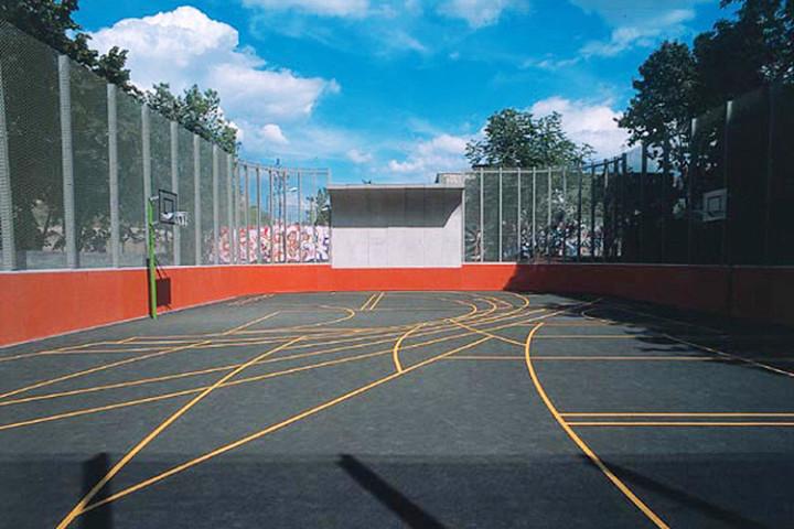 Спортивная площадка в Берлине