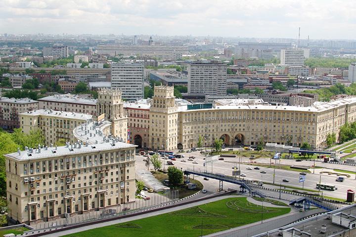 Сталинская архитектура Москвы во многом напоминает отдельные части Берлина