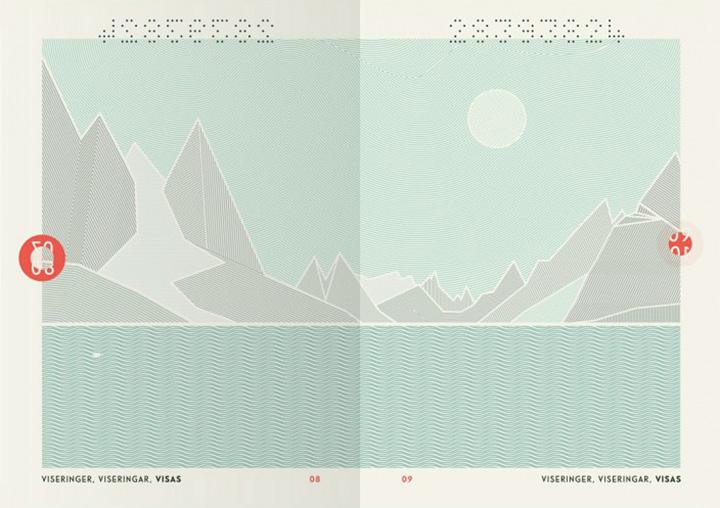 Новый дизайн норвежских паспортов