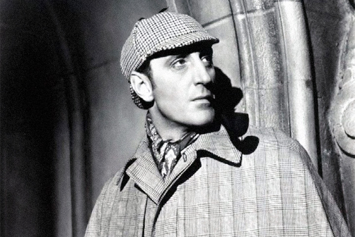 Бэзил Рэтбоун в роли Холмса в 1940-е годы