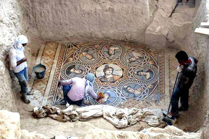 Античные мозаики в Турции