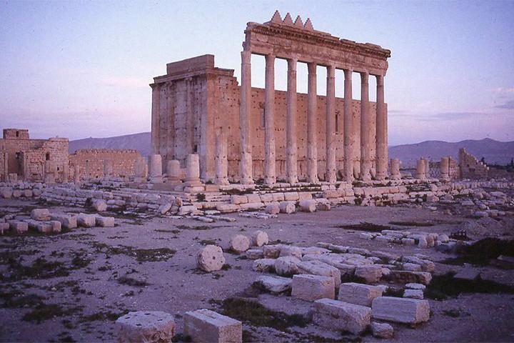 Храм Бэла в центре античной Пальмиры