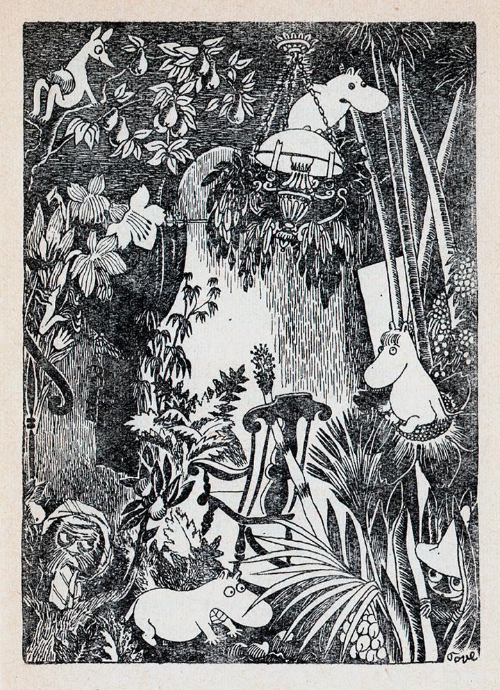 Иллюстрация из книги «Шляпа волшебника»