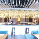 Ресторан Palladium - фотография 2 - Барная стойка ресторана.
