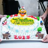 Ресторан Дюшес - фотография 5 - Фирменный новогодний торт