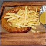 Ресторан Колбасофф - фотография 3 - метровая колбаска