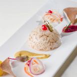 Ресторан Русские сезоны - фотография 1 - Студень из деревенских цыплят с горчицей