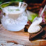 Ресторан Северянин - фотография 2 - Щучья икра с тостами из черного хлеба