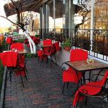 Ресторан Глазурь - фотография 5 - Летняя площадка