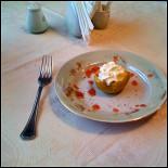 Ресторан Океан - фотография 6 - «Океан»: Десерт. Ябоко в карамели