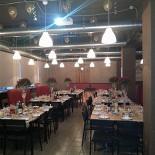 Ресторан 2.0 - фотография 1 - Вариант зала свадебного банкета на 80 персон
