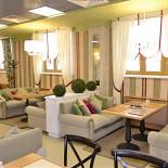 """Ресторан Подполиум  - фотография 6 - Зал """"Кафе"""" ресторана на 3-м этаже"""