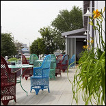 Ресторан Vinograd - фотография 3 - балкон