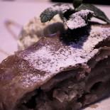 Ресторан Этаж - фотография 1 - яблочный штрудель довольно вкусный