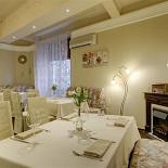 Ресторан Колесо времени - фотография 3 - Каминный зал на 40 персон