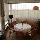 Ресторан La terrazza - фотография 4 - Уголок Италии на побережье Чёрного моря....