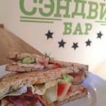 Ресторан Сэндвич-бар - фотография 6 - сэндвич с курицей и беконом