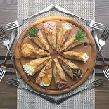 Ресторан Блин-клуб - фотография 6 - Разнообразие начинок.