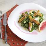 """Ресторан Варенье - фотография 3 - Салат из обеденного меню в ресторане """"Варенье""""."""