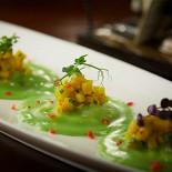 Ресторан Funky Lab - фотография 5 - Равиоли с сибасом