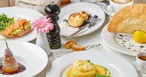 Gina café: хлеб, любовь и фантазия