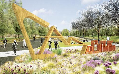 Открытие парка «Садовники»