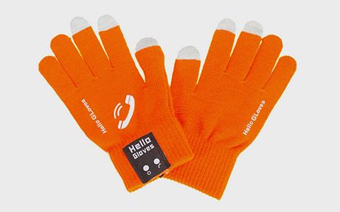 Сенсорные перчатки с блютус-модулем Hello Gloves