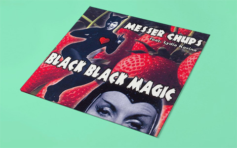 Messer Chups «Black Black Magic»