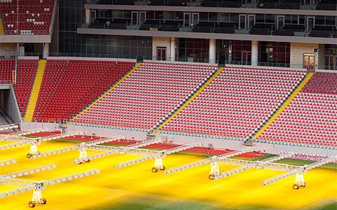 Домашний матч на стадионе «Спартака» против «Црвены Звезды»
