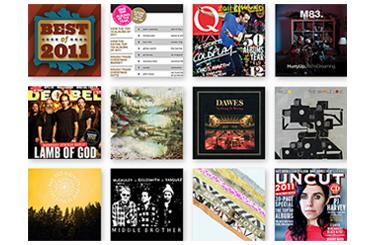Лучшие альбомы года по версии The Wire, Q, Mojo и других