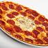 "Ресторан Da Pino - фотография 11 - Пицца ""Око де буе"". Томаты, яйцо, сыр моцарелла, колбаса «Сальсичча пиканта», пармезан."