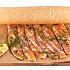 Ресторан Мумий Тролль Music Bar - фотография 11 - Теплое карпаччо из лосося