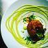 Ресторан Где-то - фотография 7 - брауни с эстрагоновым соусом