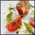 Ресторан Дружба - фотография 7 - Моцарелла с помидорами и соусом Песто