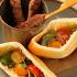Ресторан The Waiters - фотография 6 - Мини-кебаб из баранины с питой и салатом