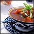 Ресторан Самарканд - фотография 10 - Необычный и очень интересный суп харчо на наваристом бульоне из баранины с рисом и томатами! Поверьте, это блюдо, приготовленное в Самарканде, непременно порадует Вас и не оставит равнодушными к его изысканному вкусу!