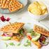 Ресторан Max Brenner - фотография 7 - Сэндвич с куриной грудкой-гриль, авокадо и рукколой