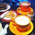 Ресторан Coffee Bean - фотография 1 - Постное меню 2014: кофе с соевым молоком, пана кота на основе кокосового молока