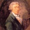 «Автопортрет» и «Романтический пейзаж» Томаса Гейнсборо