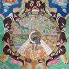 Осор Будаев — буддийский монах, художник, сотрудник музея
