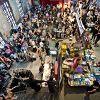Sunday Up Market. Christmas Shopping