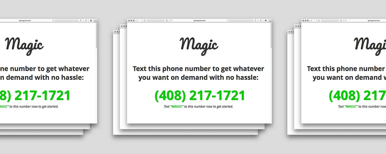 Стартап года: Magic для заказа всего на свете