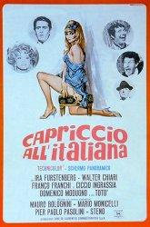 Постер Роман по-итальянски