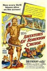 Постер Приключения Робинзона Крузо